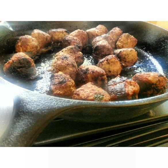 italilan meatballs